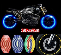 Steel, motorcycletire, reflectivesticker, Stickers