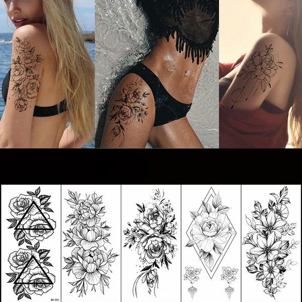 tattoo, Fashion, temporary, Sleeve