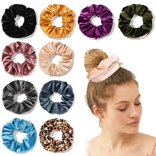 hair, hairscrunchie, scrunchiesband, Colorful