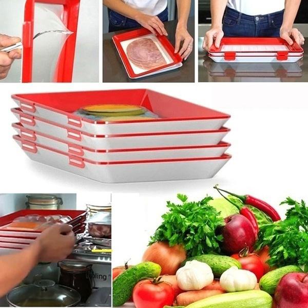 Kitchen Storage & Organization, Home & Kitchen, partyfoodplate, tray