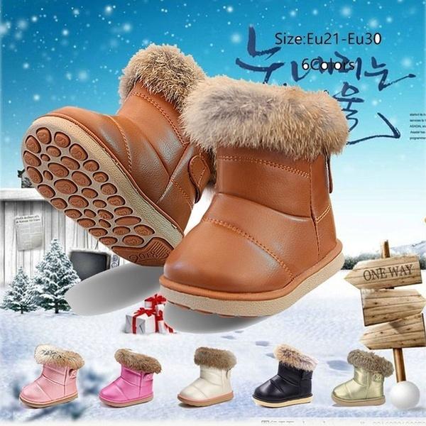kids, fur, Winter, Girl