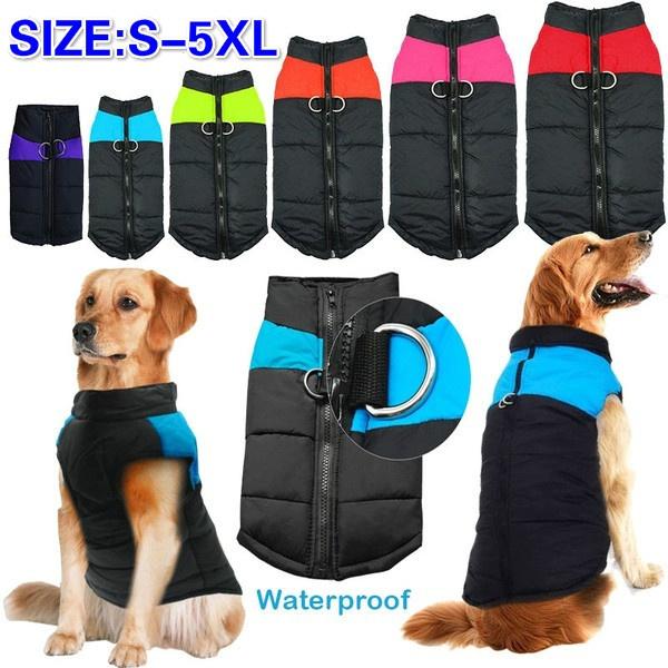 padded, Jacket, Pet Dog Clothes, Fashion