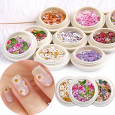 nail decoration, Box, Flowers, art