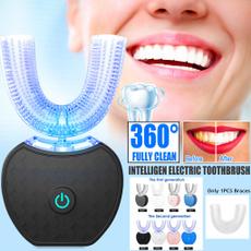 ultrasonictoothbrush, Toothbrush, lights, Electric