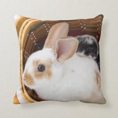 case, oddfuturecushioncase, animalrabbitcushioncase, Throw Pillows