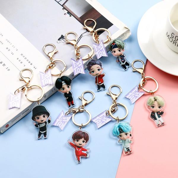 K-Pop, Key Chain, Jewelry, Army