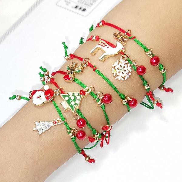 Jewelry, Gifts, Santa Claus, Bracelet