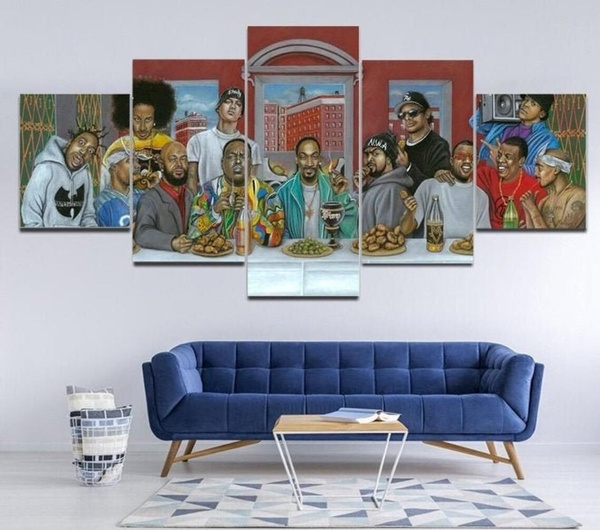 printpainting, Home Decor, Posters, hiphopposter