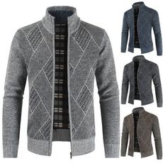 Fashion, sweater coat, Long Sleeve, 男士