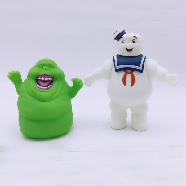 Toy, ghostbuster, marshmallow, Vintage