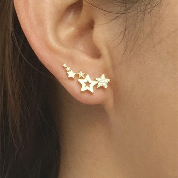 engagementgift, earclimbersearring, earcuffjewelry, studsjewelry