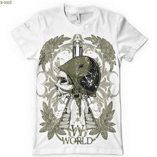 worldwar, Shorts, Cotton T Shirt, Sleeve