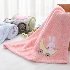 girlblanket, Towels, newbornblanket, knittedblanket