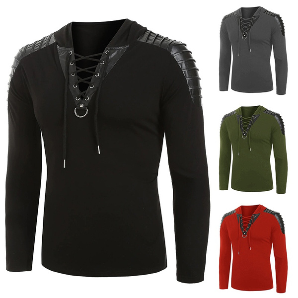 bandage top, Goth, Plus Size, hooded