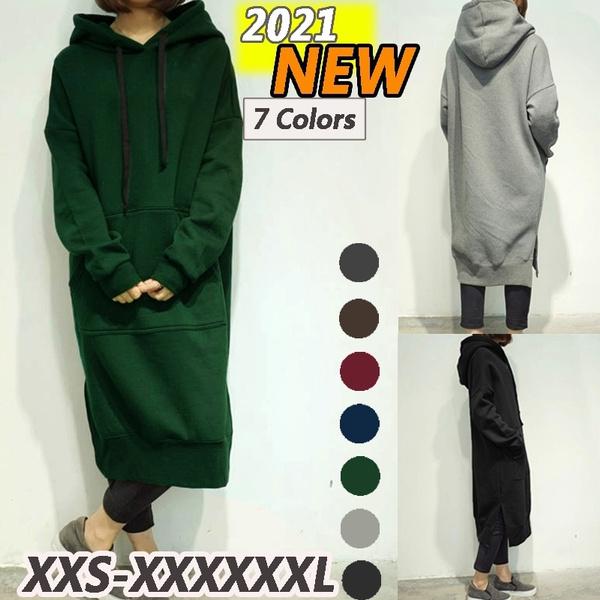 Fleece, Plus Size, Hoodies, warmhoodie