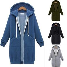Pocket, hooded, Winter, Coat