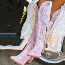 vintageboot, Platform Shoes, Womens Shoes, long boots