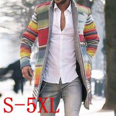 standcollarlongsleeve, autumnwinter, men coat, cardigan