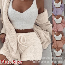 Vest, Shorts, Winter, Sleeve