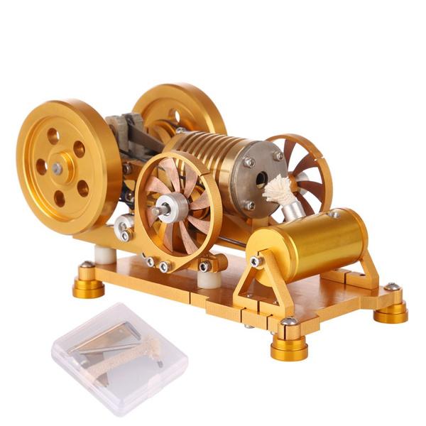 Brass, flameeaterengine, vacuumengine, flameengine