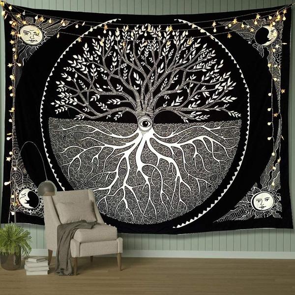 trippytapestry, Home Decor, hangingtapestry, tapiz