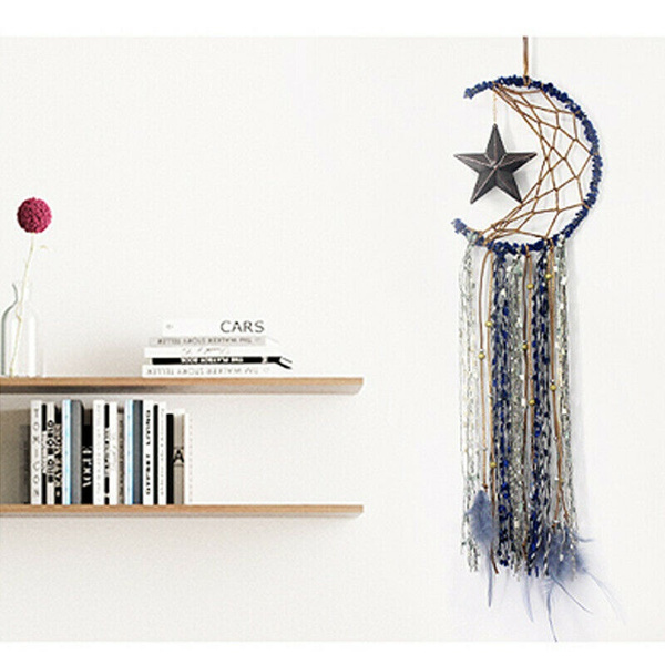 Decor, Fashion, Star, starmoondreamcatcher