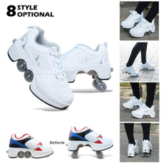 collapsible, rollerskate, Sports & Outdoors, doublerow