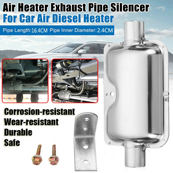 exhaustpipesilencer, carpipesilencer, airparkingheatersilencer, Stainless Steel