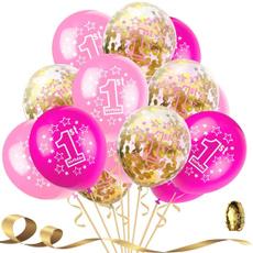 happybirthday, pink, latex, birthdayballoon