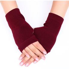 fingerlessglove, warmglove, Knitting, Winter