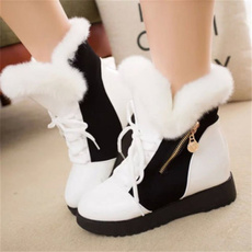 ankle boots, short boots, Leather Boots, Winter