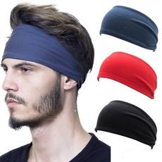 skullbandana, Fashion, widehairband, Elastic
