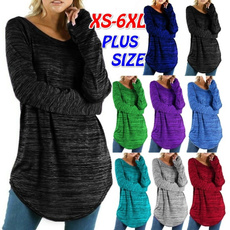 Plus Size, Tops & Blouses, Shirt, Irregular