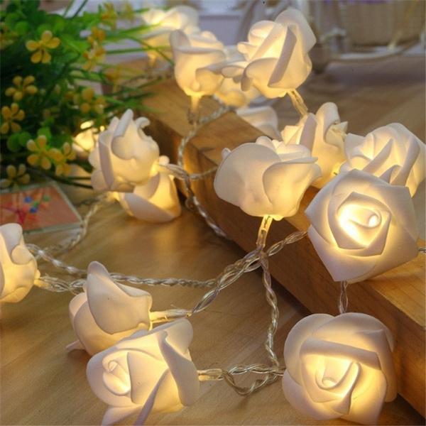 led, Garland, fairylight, decoration