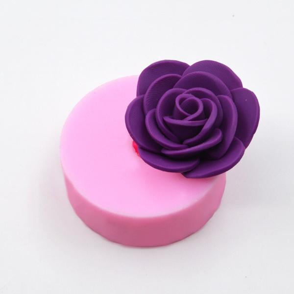 Pastels, rosesiliconecakemold, molde, silicona