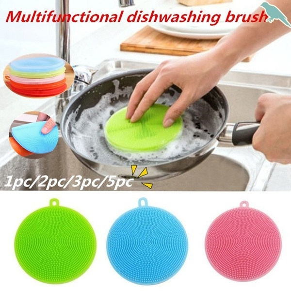 Kitchen & Dining, Silicone, cleaningbrush, Kitchen & Home