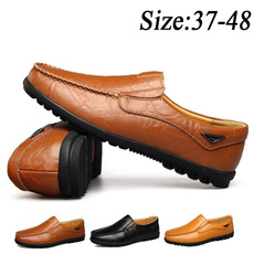 casual shoes, Fashion, leather shoes, lazyshoe