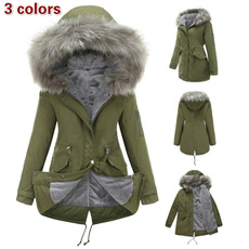 thickerwomenscottonpaddedclothe, hooded, cottonclothe, Winter