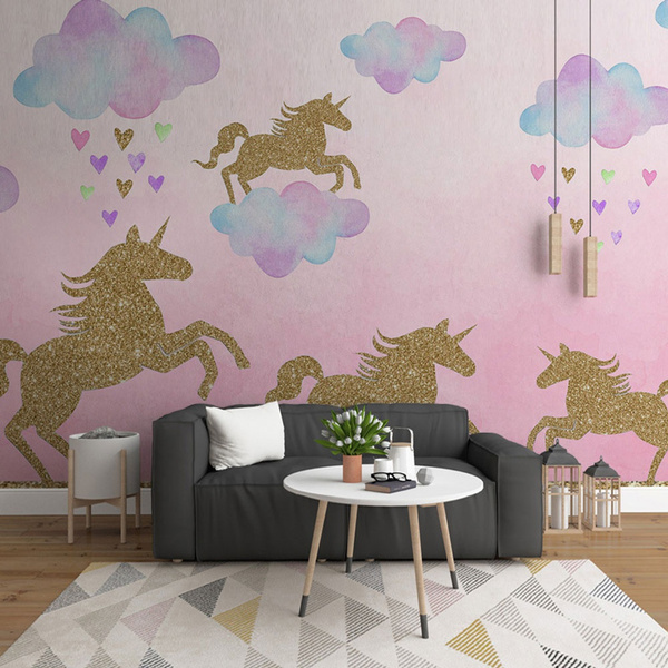 walldecalunicorn, Fashion, Home & Living, Stickers