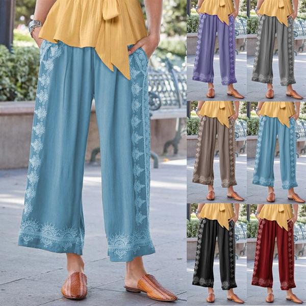 Plus Size, pantsforwomen, Casual pants, pants