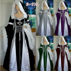 GOTHIC DRESS, Fashion, Medieval, Vintage dress