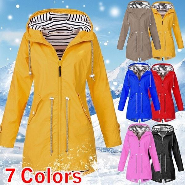 waterproofjacket, Fashion, Long Coat, winter coat