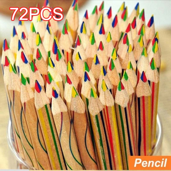 pencil, drawingpencilset, pencilkit, rainbow