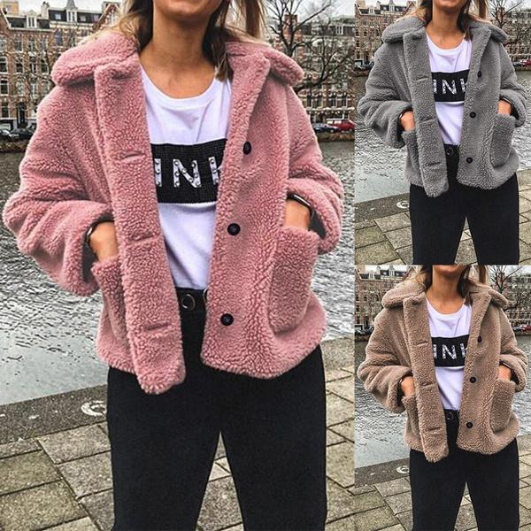 Casual Jackets, Plus Size, fleecejacket, sweater coat