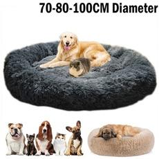 large dog bed, Pets, petroundbed, fluffy