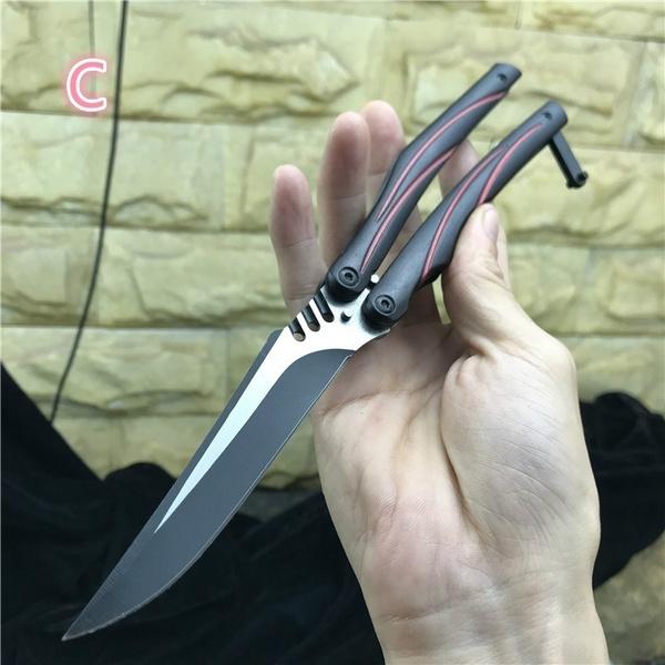butterfly, Combat, Survival, practicebutterflyknife