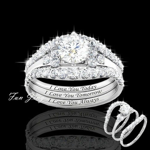 Sterling, Woman, Classics, Engagement Ring