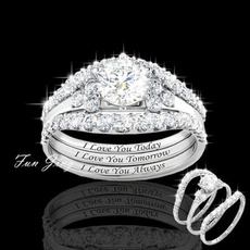 Sterling, DIAMOND, Classics, Engagement Ring
