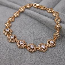 gemstone jewelry, hollowbracelet, Jewelry, gold