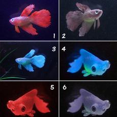 Decor, Tank, Silicone, fish